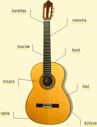 guitare 4/4 taille